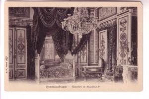 Interior, Napoleon's Bedroom, Fontainbleau, Paris, France, BF
