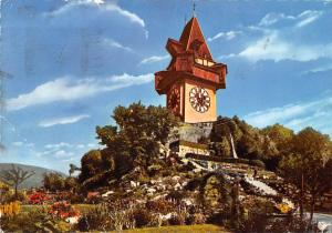 Graz Steiermark Styria Castle Hill with Clock Tower, Uhrturm Schlossberg