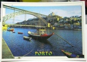 Portugal Porto Barco ravelo Ponte D Luis I Vila Nova de Gaia - unposted