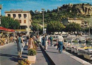 France Cassis Promenade sur le Port