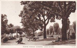 ENGLAND, 1900-1910's; Marine Parade Gardens, Leigh On Sea