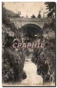 Postcard Old Env Cauterets Pont d'Espagne