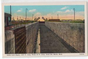 Sabin Lock, Sault Ste Marie, MI