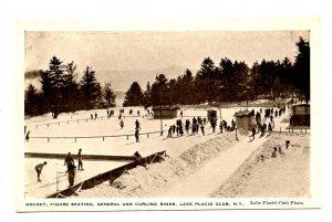 NY - Lake Placid. Lake Placid Club Hockey, Figure Skating & Curling Rinks