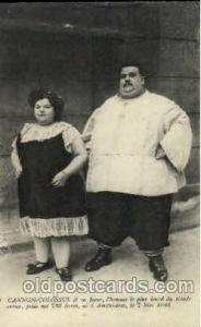 Cannon - Colossus, Heaviest Person Postcard Post Card Unused
