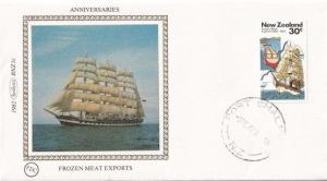 Frozen Meat Exports Benham New Zealand First Day Cover