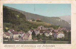 Herrenalb mit [Sanatorium] Hummelsburg und Falkenstein , Germany , PU-1900 ; ...