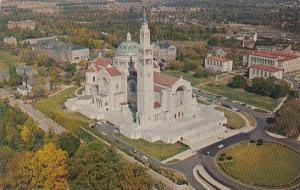 Washington DC Aerial View Of The National Shrine Of The Immaculate Conception