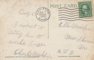 LEWISTON , Maine, 1919 ; Androscoggin Mill