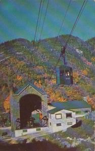 New Hampshire Franconia Notch Cannon Mountain Aerial Tramway