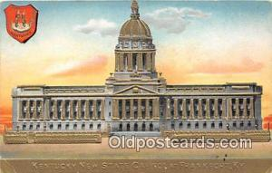 Kentucky New State Capitol Frankfort, KY, USA Postcard Post Card Frankfort, K...