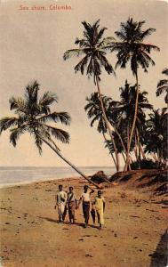 Colombo Ceylon, Ceylan Sea Shore Colombo Sea Shore