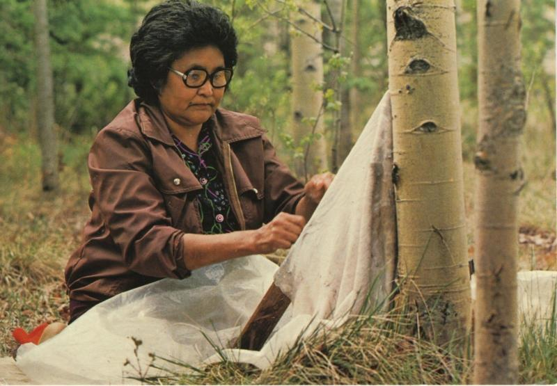 Gerti Tom YT Yukon Native Products Ad Indian Indigenous Culture Postcard D23