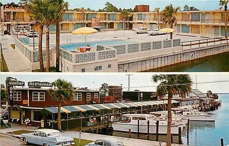 Fl Panama City Florida Cabana Motel Douglas R Smith No