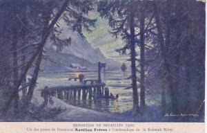 Exposition de Bruxelles 1910 ; Koksoak River View