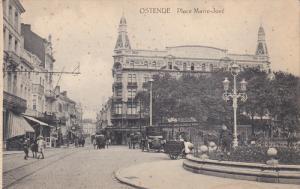OSTENDE, West Flanders, Belgium, 1900-1910's; Place Marie Jose