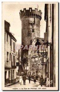 Old Postcard Vichy Clock Tower I