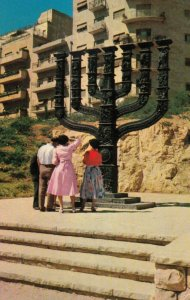 JERUSALEM , 1950-60s ; Great Menorah of the Knesseth
