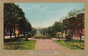 BALTIMORE, Maryland, PU-1906; Eutaw Place