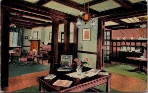 Chicago Illinois~Standard Varnish Works~Dark Mahogany Office~1913 Advertising PC