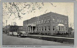 LP37 South Whitley KAADT Diabetic Institute   Indiana Vintage Medical Postcard