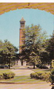 Alabama Tuscaloosa denny Chimes University Of Alabama