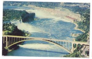 Niagara Falls American Airline Postcard Aerial View