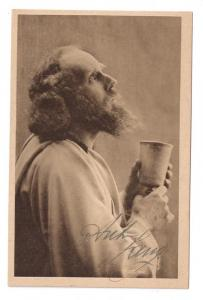 Germany Oberammergau Actor Anton Lang as Jesus 1922