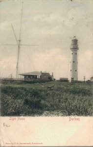 South Africa Light House Durban 03.96