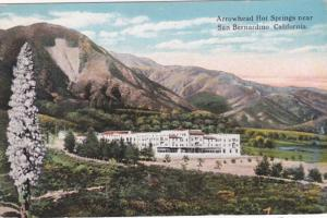 California San Bernardino Arrowhead Hot Springs Hotel Curteich