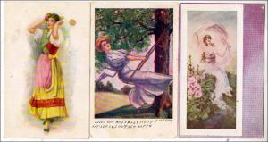 3 - Cards with Women
