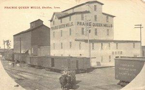 LPS87 SHELDON Iowa Prairie Queen Mills Postcard