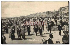 Old Postcard Hove Lawns