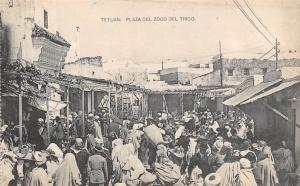 Maroc Morocco Tetouan Tetuan: Plaza del Zoco del Trigo, Natives