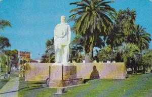 California Riverside Juan Bautista De Anza Statue 1954