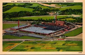 Tennessee Elizabethton North American Rayon Corporation Plant