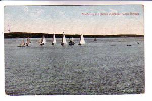 Yachting, Sydney Harbour, Nova Scotia, On the Line of the Intercolonial Railway