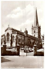 3000  Ireland  Londonberry  St.Columb's Cathedral   RPC