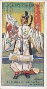Player Vintage Cigarette Card Gilbert & Sullivan 2nd Series No 19 Mikado Of J...
