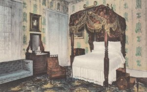 NASHVILLE, Tennessee, 1900-10s; General Jackson's Bedroom at The Hermitage