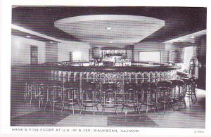 Waukegan - Hank's Fine Foods - Bar Interior Photo
