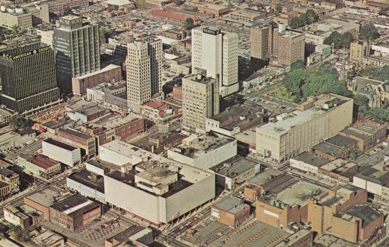 CHARLOTTE , North Carolina , 50-60s, Aerial View