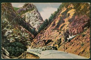 CALIFORNIA ZEPHYR Stainless Steel Vista Dome Cars Train Railroad Postcard