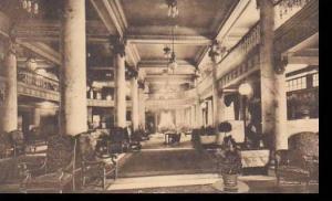 New York Utica Hotel Utica Reception Lobby Albertype