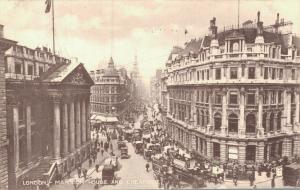 UK London Mansion House and Cheapside 01.86