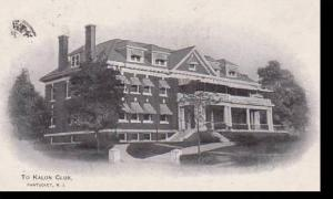 Rhode Island Pawtuckett To Kalon Club