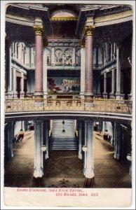 Grand Stairway, State Capitol, Iowa