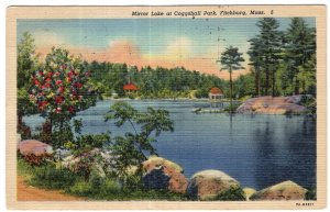 Fitchburg, Mass, Mirror Lake at Coggshall Park