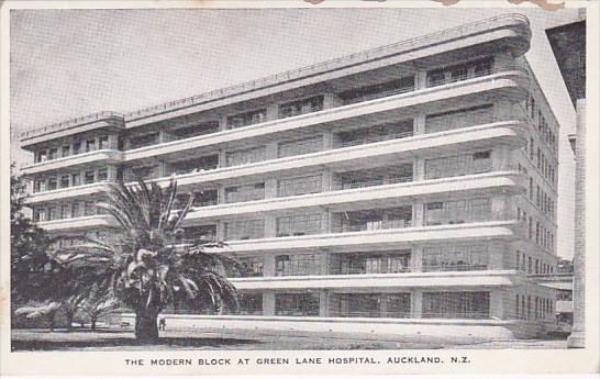 New Zealand Auckland The Modern Block At Green Lane Hospital