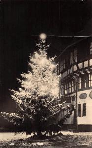 Luftkurort Stolberg Harz Christmas Tree Winter Night view